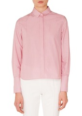 Akris punto Stripe Cotton Shirt