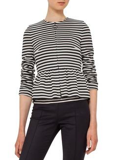 Akris punto Stripe Knit Jacket