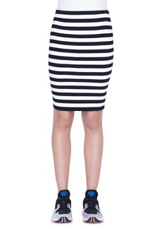 Akris punto Stripe Knit Skirt