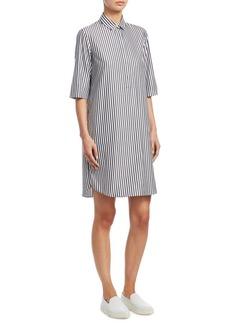 Akris Punto Stripe Shirt Dress