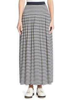 Akris punto Striped Maxi Skirt