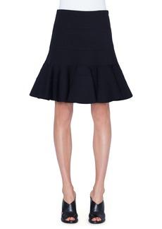 Akris punto Tiered Flare Jersey Skirt