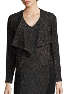 Akris punto Tweed Draped Jacket