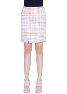 Akris punto Tweed Miniskirt