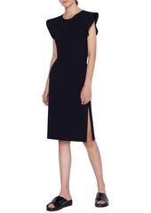 Akris punto Wave Shoulder Knit Dress