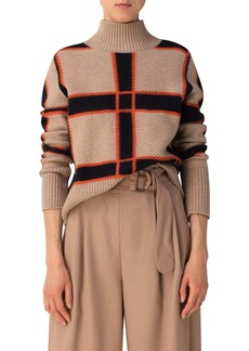 Akris punto Wool & Cashmere Blend Sweater