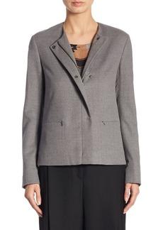 Akris Punto Wool A-Line Jacket
