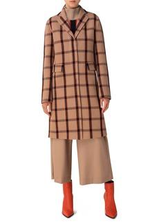 Akris punto Wool Blend Coat