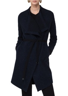 Akris punto Wool Blend Gabardine Coat