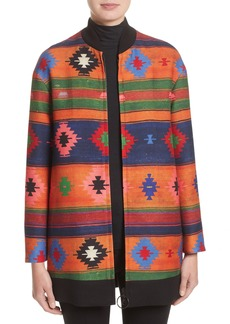 Akris punto Wool Bomber Jacket (Nordstrom Exclusive)