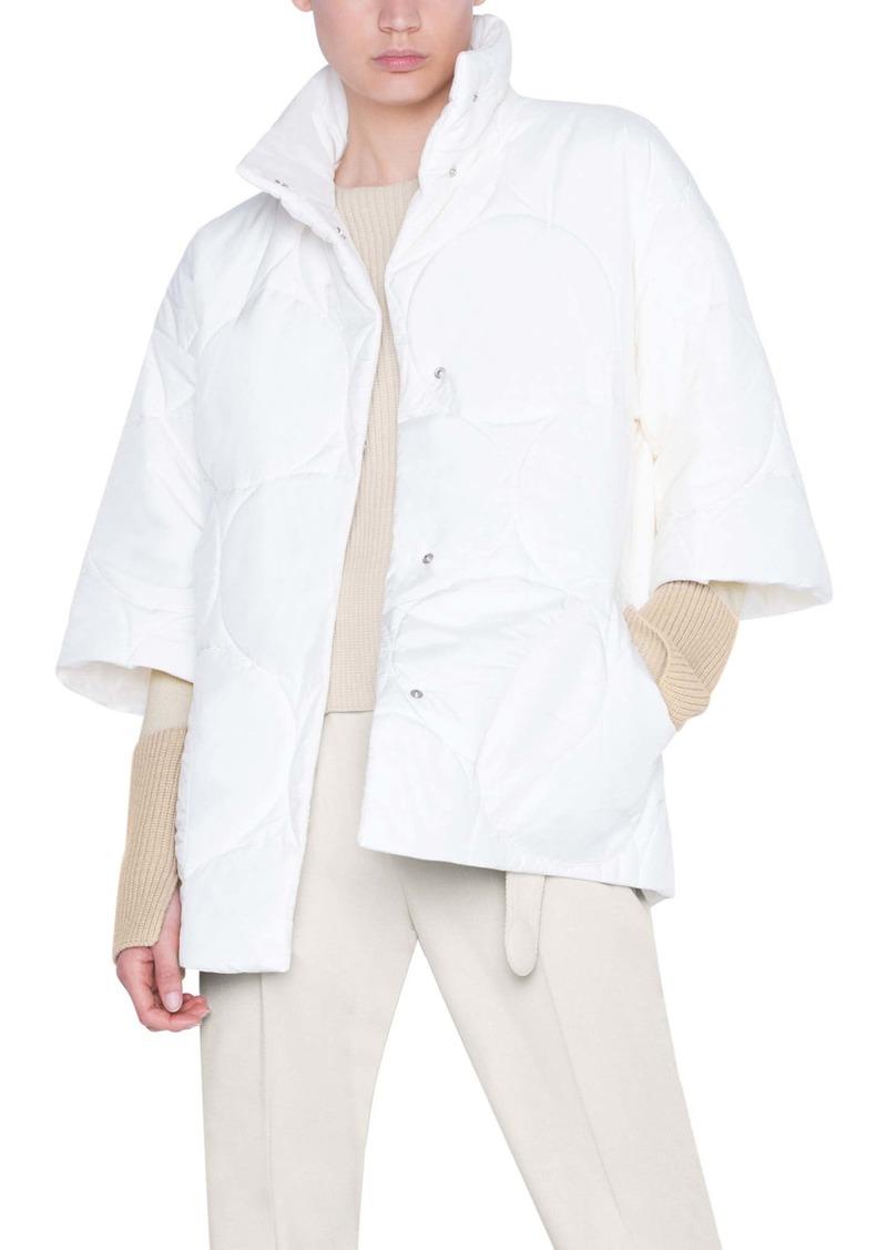 Akris punto XL Dot Quilted Puffer Jacket