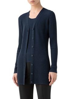 Akris puntoColorblock Stripe Wool Sweater
