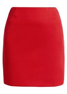 Akris Punto Bonded Jersey Two-Tone Pencil Skirt
