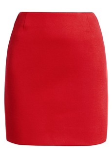 Akris Punto Bonded Jersey Two-Tone Pencil Skirt