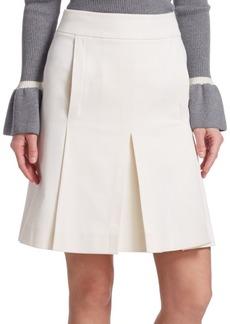 Box-Pleat Skirt
