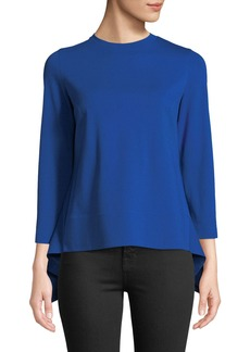Akris Punto Bracelet-Sleeve Jersey Tunic