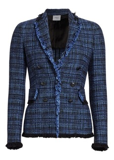 Akris Punto Button Tweed Jacket