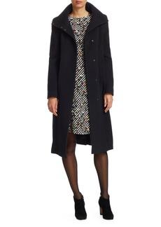 Akris Punto Cashmere-Blend Coat