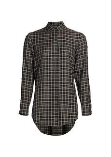 Akris Punto Check Tunic Shirt