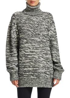 Akris Punto Chunky Tweed Knit Sweater