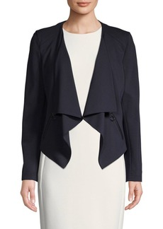 Akris Punto Classic Asymmetric Jacket