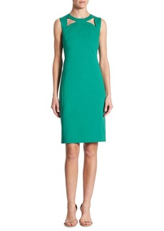 Akris Cutout Sheath Dress