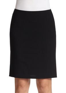 Elements Godet Wool Pencil Skirt