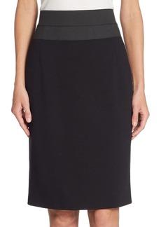 Akris Punto Elements High-Waist Pencil Skirt