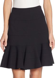 Akris Punto Elements Jersey Flippy Skirt