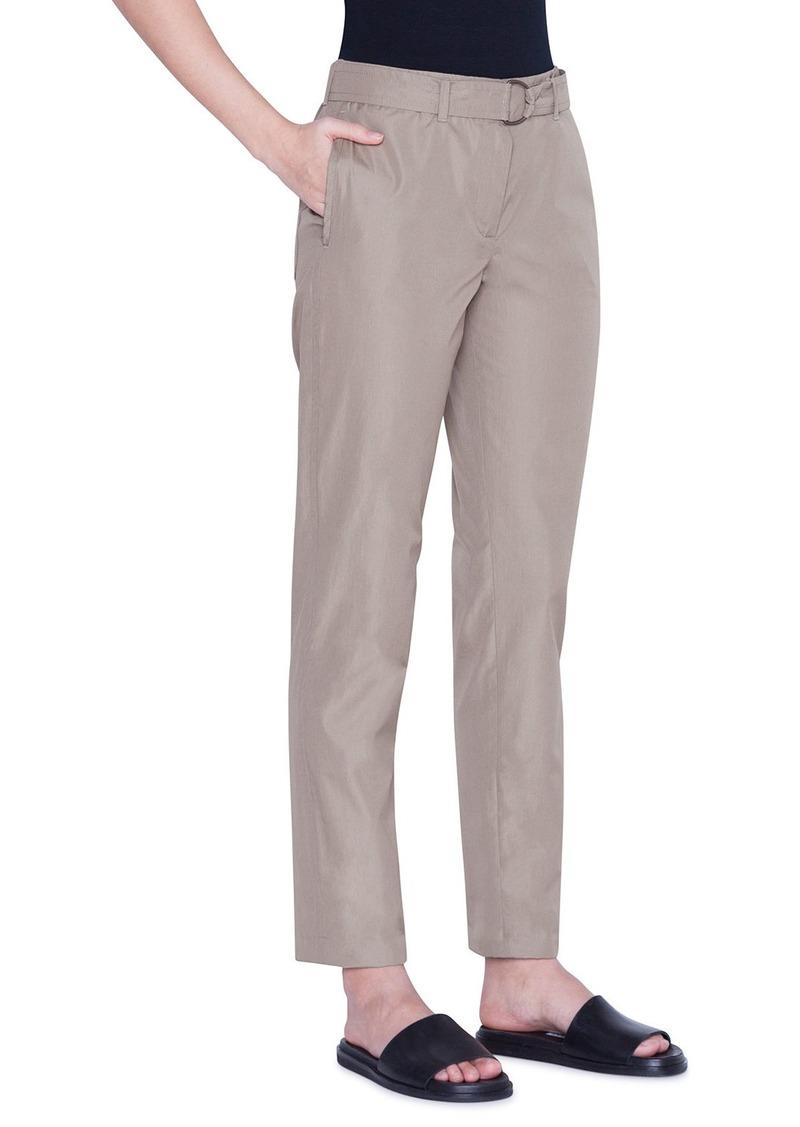 Akris Punto Fallon Chino-Style Cotton Ankle Pants