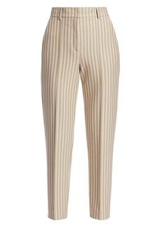 Akris Punto Ferry Kodak Stripe Crop Pants