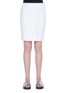 Akris Punto Fitted Jersey Skirt