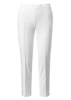 Akris Punto Franca Studded Ankle Pants