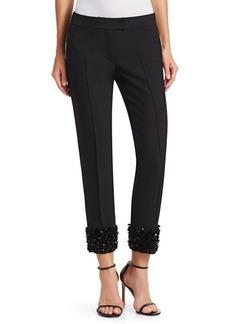 Akris Punto Frankie 3-D Sequin Pants