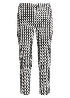 Akris Punto Frankie Soundboard Print Crop Trousers