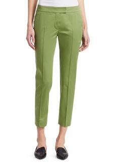 Akris Punto Frankie Stretch Cotton Crop Pants