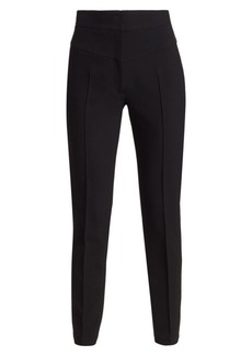 Akris Punto Freya High-Waist Tapered Trousers