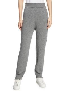 Akris Punto High-Waist Wool-Blend Jogging Pants