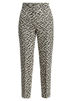 Akris Punto Ikat Printed Ferry Pants