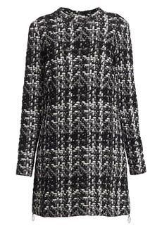 Akris Punto Knit Tweed Long-Line Tunic