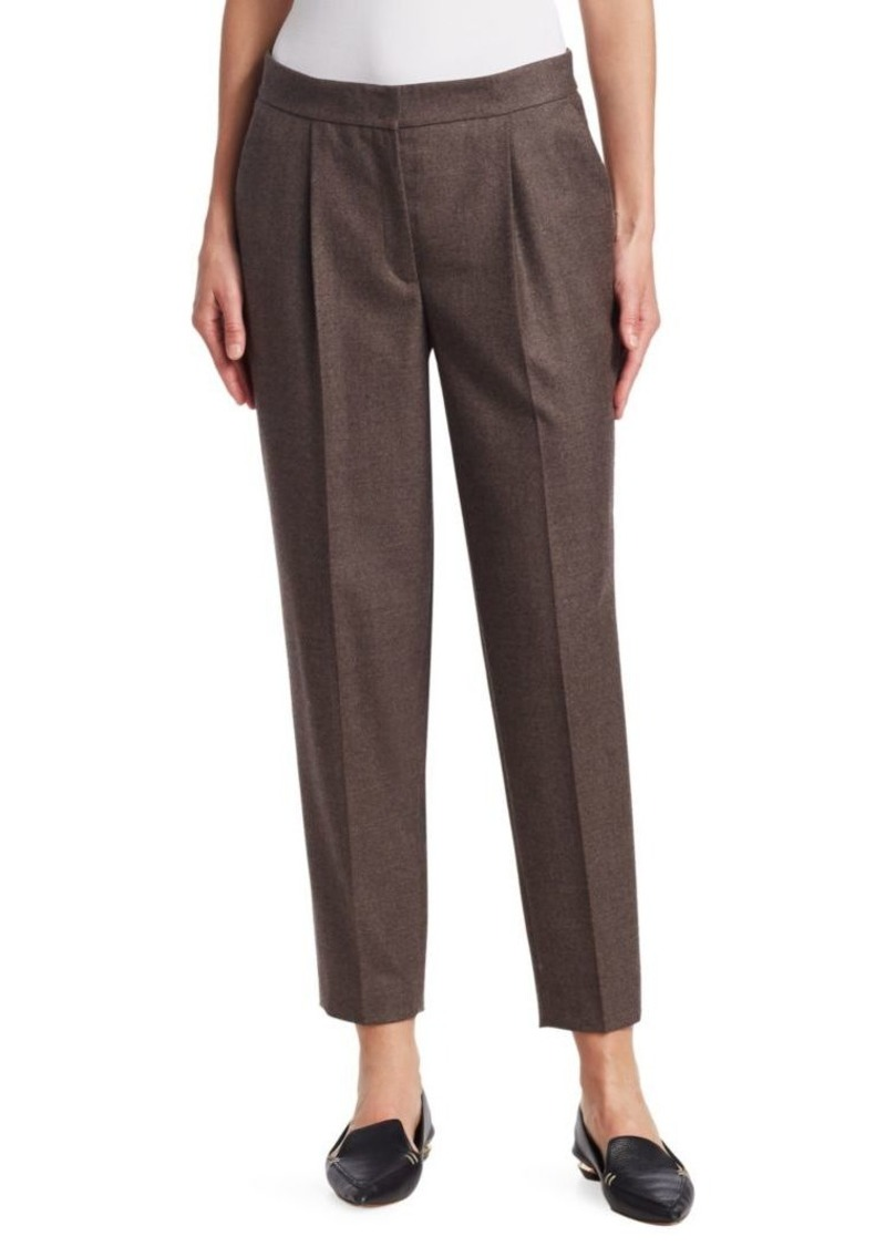 3a3b98a06473 Akris Punto Maiko Wool Ankle Trousers