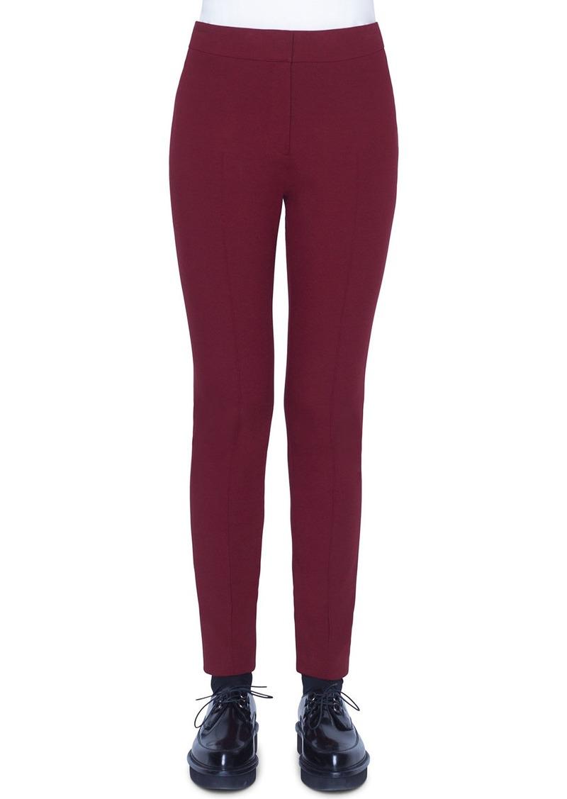Akris Punto Mara Jersey Pants  Ruby