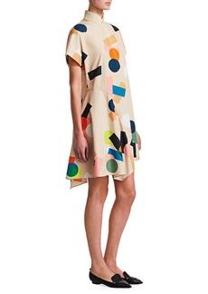 Akris Punto Memphis Belair Print Dress
