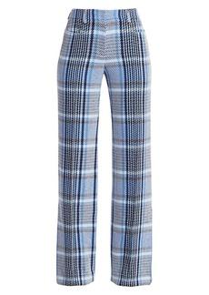 Akris Punto Mikka Plaid Tweed Pants