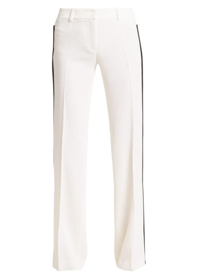 Akris Punto Mikka Side Stripe Wool Trousers