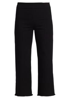 Akris Punto Minata Fringe High-Waist Jeans