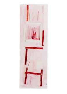Akris Ohayo-Print Cashmere & Silk Scarf