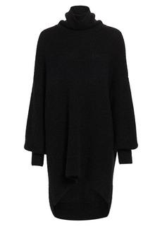 Akris Punto Oversized Alpaca-Blend Knit Turtleneck Sweater