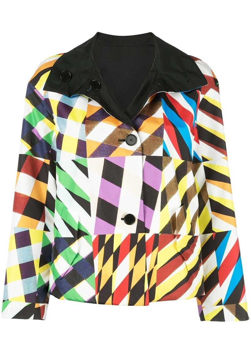 Akris Punto reversible bomber jacket