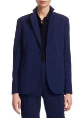 Akris Punto Satine Contrast Jacket